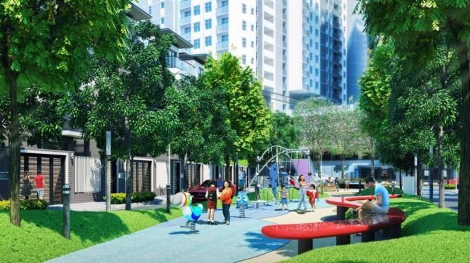 Tiện ích hiện đại căn hộ SaiGon Sports City
